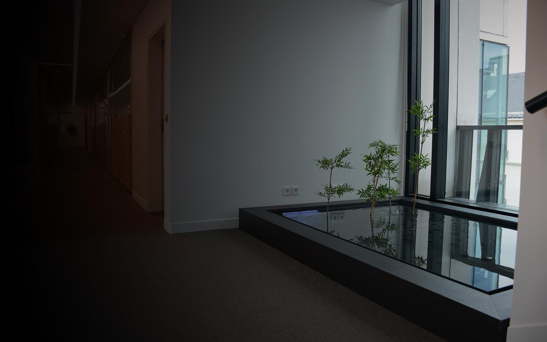 un bassin int rieur sur mesure oc an d 39 interieur. Black Bedroom Furniture Sets. Home Design Ideas